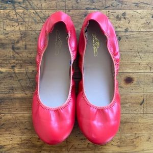 ❤️ RED flats by Journee Collection, sz 8.5